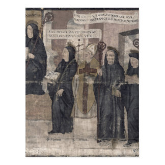 Saint Robert and various Benedictine Postcard