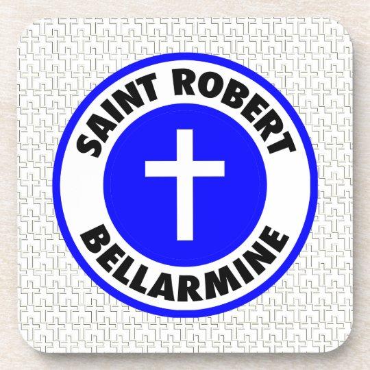 Saint Robert Bellarmine Beverage Coaster