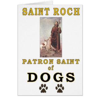 SAINT ROCH GREETING CARD