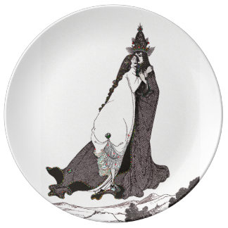 Saint Rose of Lima Ascends to Heaven Dinner Plate