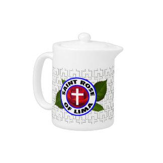 Saint Rose of Lima Teapot
