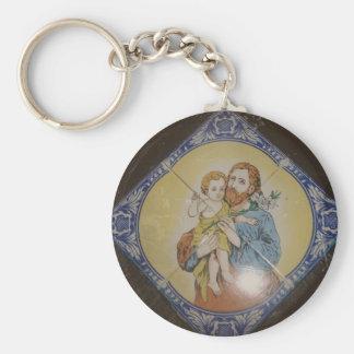 Saint São Jose Key Chains