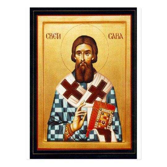 Saint Sava Postcard