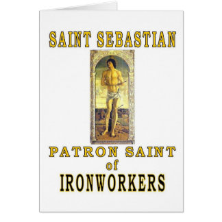 SAINT SEBASTIAN CARD