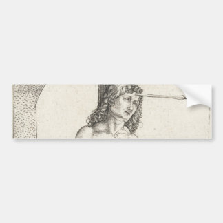 Saint Sebastian Tied to a Column by Albrecht Durer Bumper Sticker