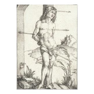 Saint Sebastian Tied to a Column by Albrecht Durer Card