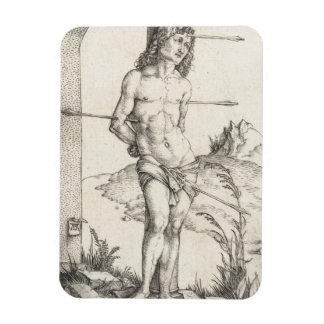Saint Sebastian Tied to a Column by Albrecht Durer Magnet