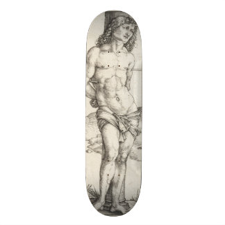 Saint Sebastian Tied to a Column by Albrecht Durer Skateboard Deck