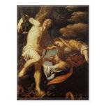 Saint Sebatian Tended by the Holy Women-Eugene Del Postcard