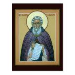 Saint Sergius of Radonezh Prayer Card Post Cards