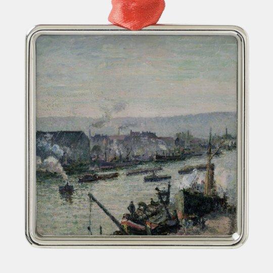 Saint-Sever Port, Rouen, 1896 Metal Ornament