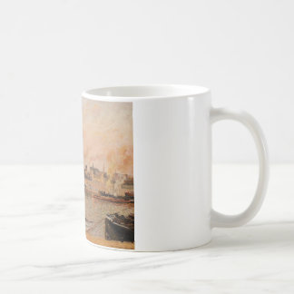 Saint Sever, Rouen Morning, Five O'Clock Coffee Mug