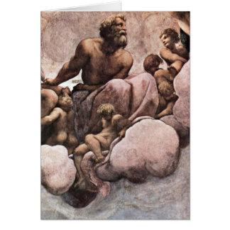 Saint Simon By Antonio Allegri Da Correggio Card