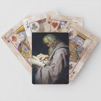Saint Simon  Peter Paul Rubens oil portrait Bicycle Playing Cards