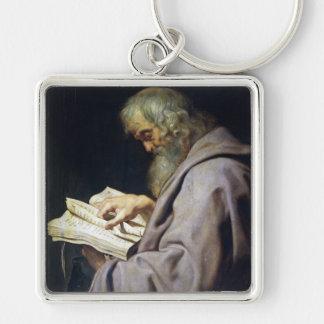 Saint Simon  Peter Paul Rubens oil portrait Keychain