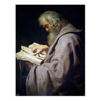 Saint Simon  Peter Paul Rubens oil portrait Postcard