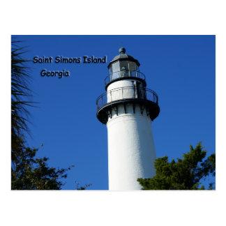 Saint Simons Island Postcard