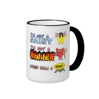 saint& sinner ringer coffee mug