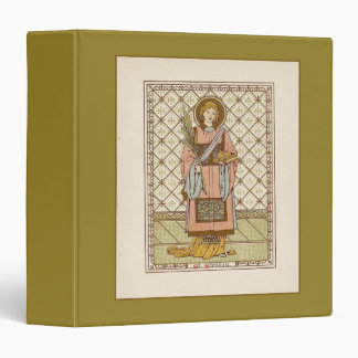 Saint Stephen 3 Ring Binder