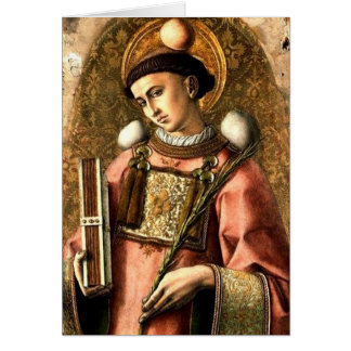 Saint Stephen Card