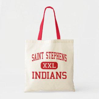 Saint Stephens - Indians - High - Hickory Tote Bag
