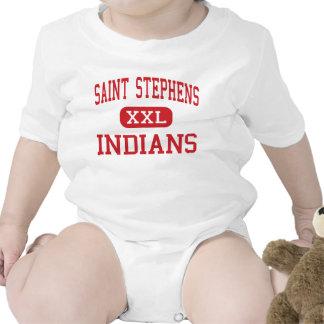 Saint Stephens - Indians - High - Hickory Bodysuits