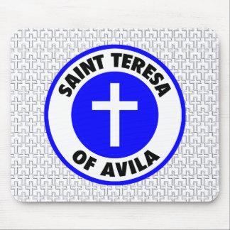 Saint Teresa of Avila Mouse Pad