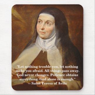 Saint Teresa of Avila Mousepad