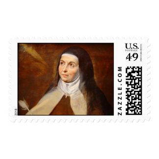 Saint Teresa of Avila postage