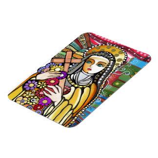 Saint Teresa of Jesus Flexible Magnets