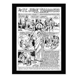Saint Thaddeus Postcard