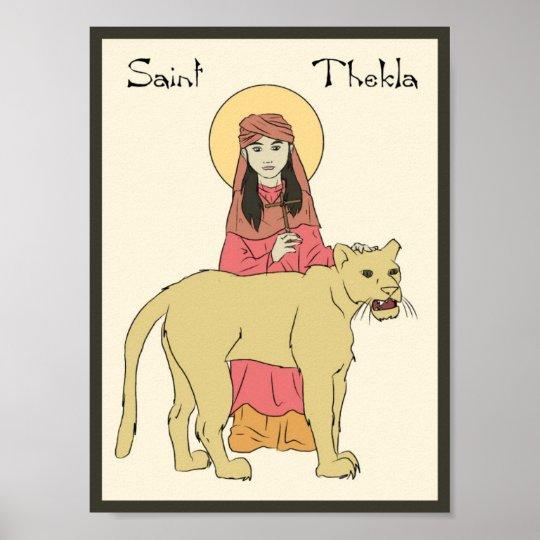 Saint Thekla Poster