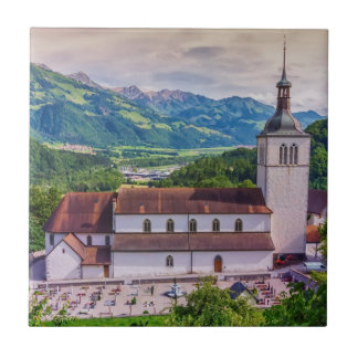 Saint-Theodule parish, Gruyeres, Switzerland Tile