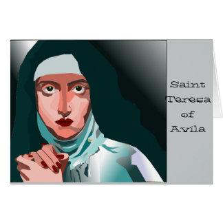 Saint Theresa Card