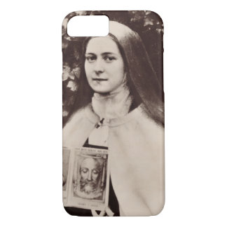 Saint Therese And The Holy Face Of Jesus iPhone 7 Case