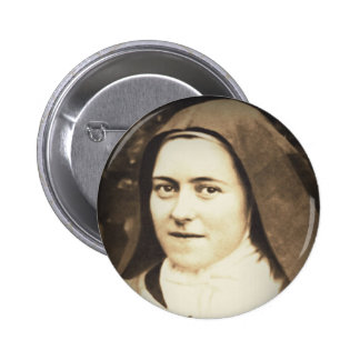 SAINT THERESE OF LISIEUX BUTTON