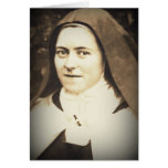 SAINT THERESE OF LISIEUX CARD