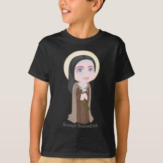 Saint Therese of Lisieux Cute Catholic T-Shirt
