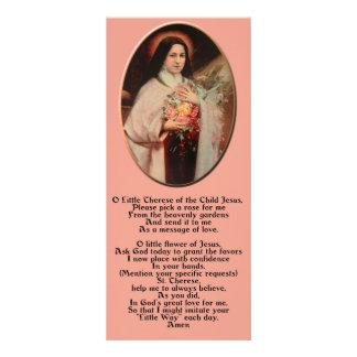 Saint Thérèse of Lisieux Holy Card Rack Cards