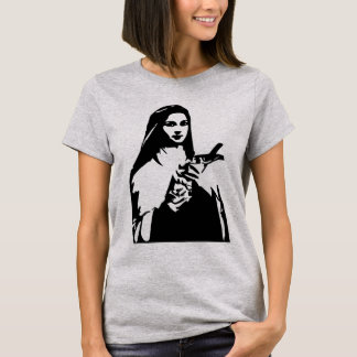 Saint Therese of Lisieux Ladies Shirt