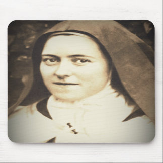 SAINT THERESE OF LISIEUX MOUSE PADS