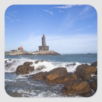 Saint Thiruvalluvar Statue | Tamil Nadu, India Square Sticker