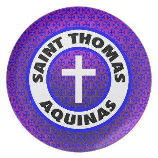 Saint Thomas Aquinas Dinner Plate