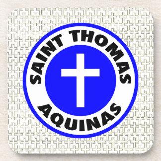 Saint Thomas Aquinas Drink Coaster