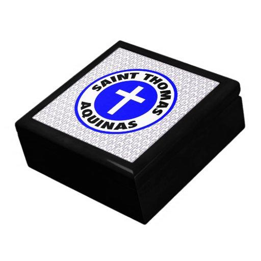 Saint Thomas Aquinas Keepsake Box