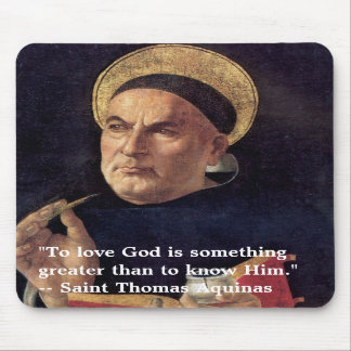 Saint Thomas Aquinas Mousepad
