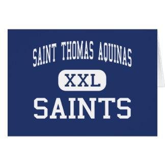 Saint Thomas Aquinas - Saints - High - Dover Greeting Card