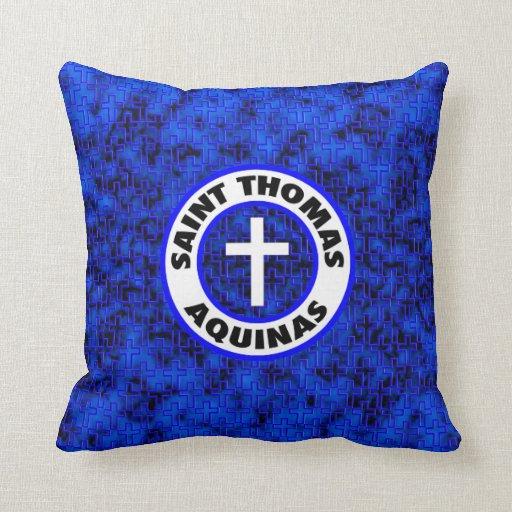 Saint Thomas Aquinas Throw Pillow