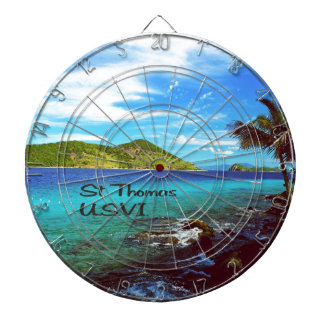 Saint Thomas Coral World Dartboard