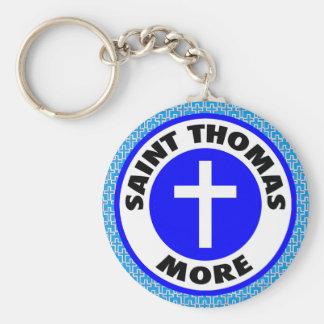 Saint Thomas More Keychain